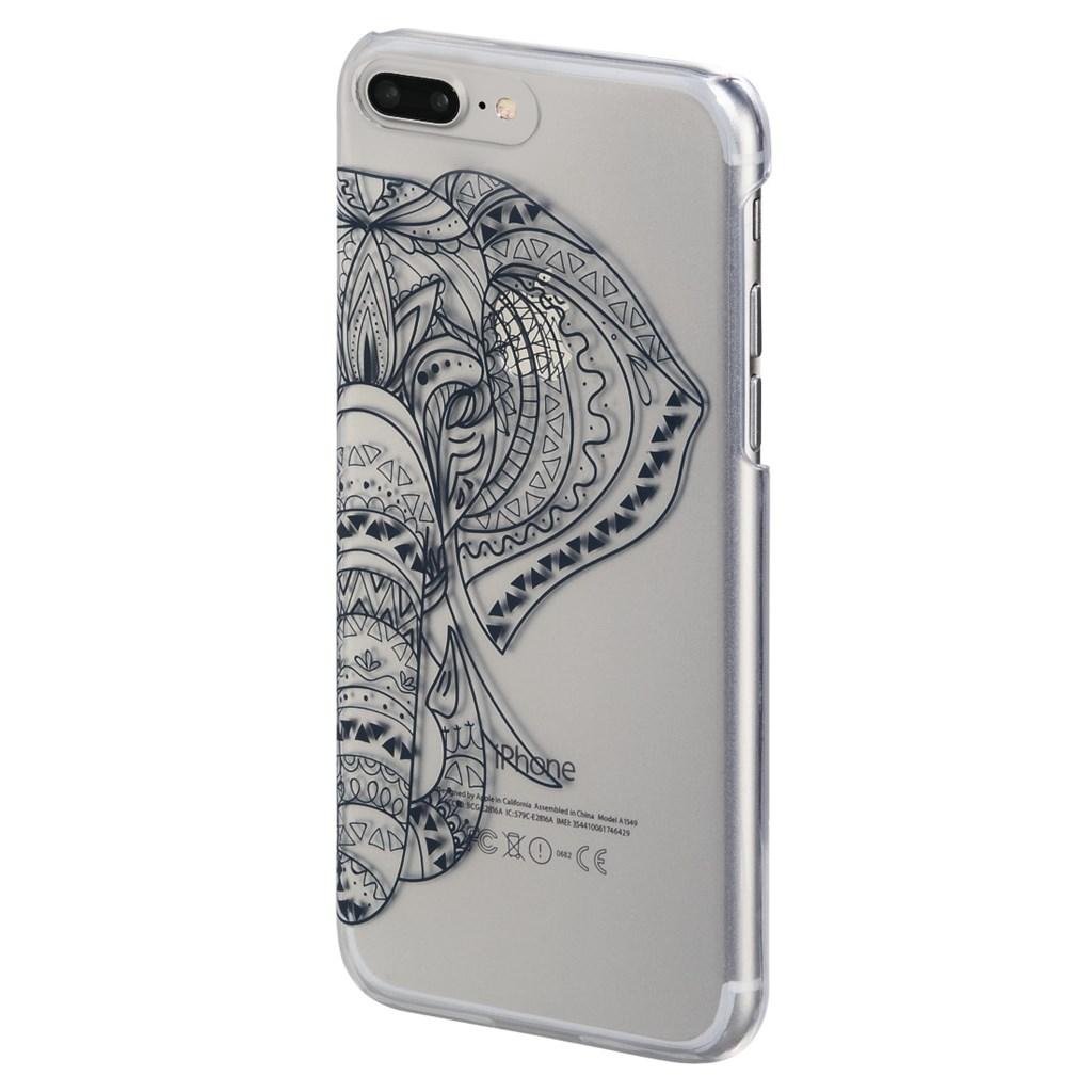 Hama Tantor Cover for Apple iPhone 6 Plus /6s Plus /7 Plus, transp./dark blue