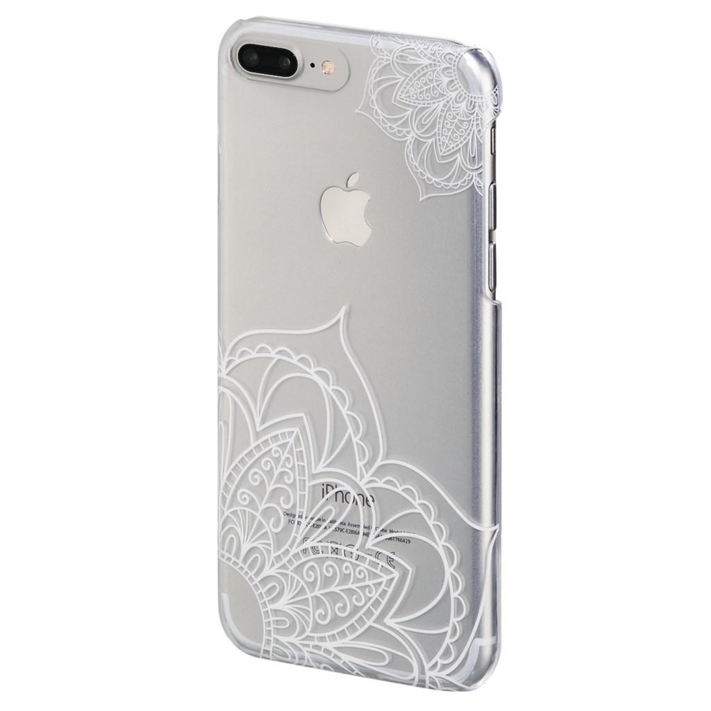 Hama Lotus Cover for Apple iPhone 6 Plus /6s Plus /7 Plus, transparent/white