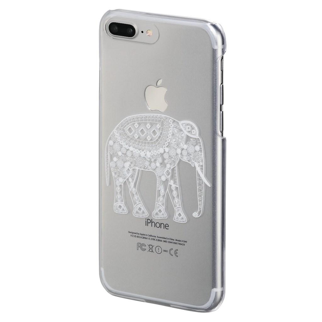 Hama Hathi Cover for Apple iPhone 6 Plus /6s Plus /7 Plus, transparent/white