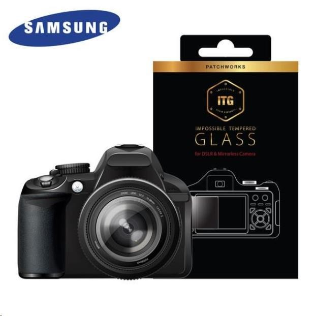 Patchworks ITG Plus skleněná fólie na displej pro Samsung NX1 / NX500 - čirý