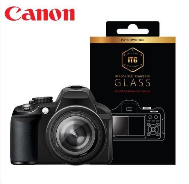 Patchworks ITG Plus skleněná fólie na displej pro Samsung NX3000, Canon M3 / M10 - čirý