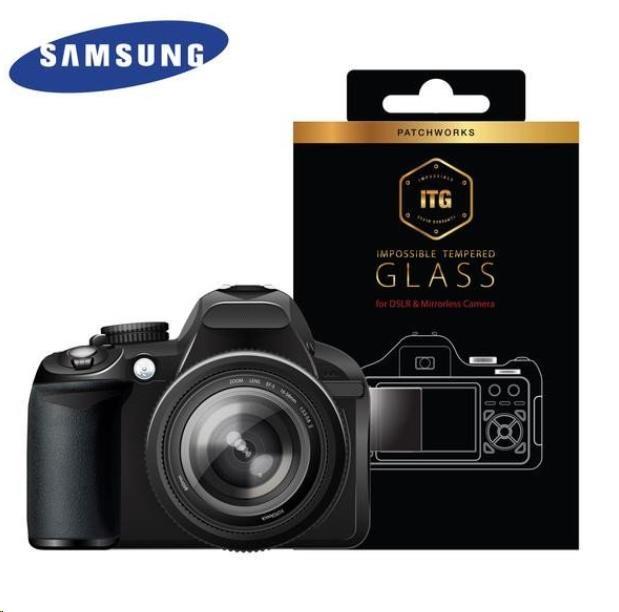 Patchworks ITG Plus skleněná fólie na displej pro Samsung NX300/ NX300M - čirý