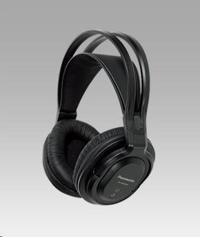 Panasonic bezdrátová stereo sluchátka RP-WF830E-K, černá