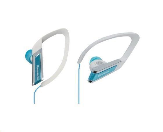 Panasonic stereo sluchátka RP-HS200E-A, 3,5 mm jack, modrá