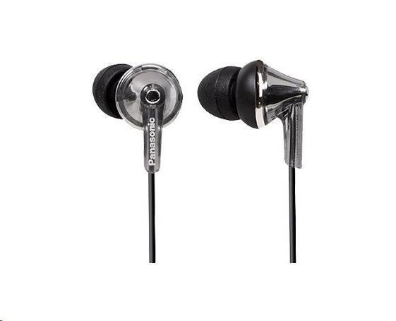 Panasonic stereo sluchátka RP-HJE190E-S, 3,5 mm jack, stříbrná