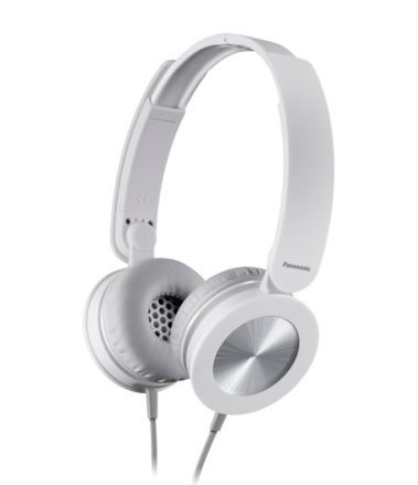 Panasonic stereo sluchátka RP-HXS220E-W, 3,5 mm jack, bílá