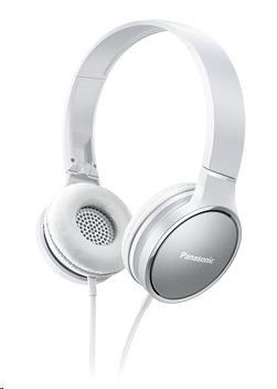 Panasonic stereo sluchátka RP-HF300E-W, 3,5 mm jack, bílá
