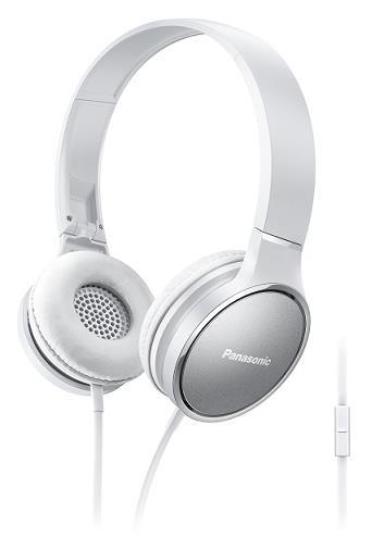 Panasonic stereo sluchátka RP-HF300ME-W, 3,5 mm jack, bílá