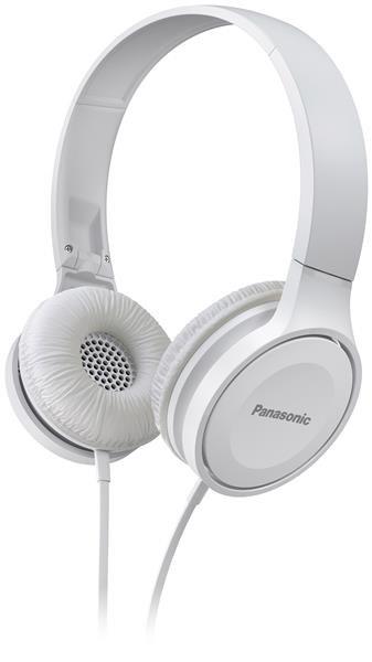 Panasonic stereo sluchátka RP-HF100E-W, 3,5 mm jack, bílá