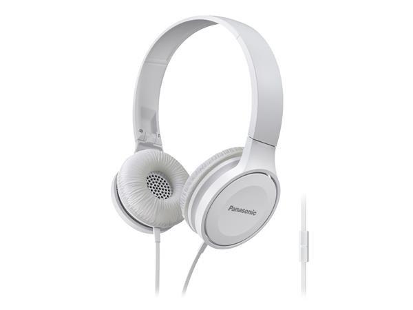 Panasonic stereo sluchátka RP-HF100ME-W, 3,5 mm jack, bílá