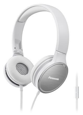 Panasonic stereo sluchátka RP-HF500ME-W, 3,5 mm jack, bílá