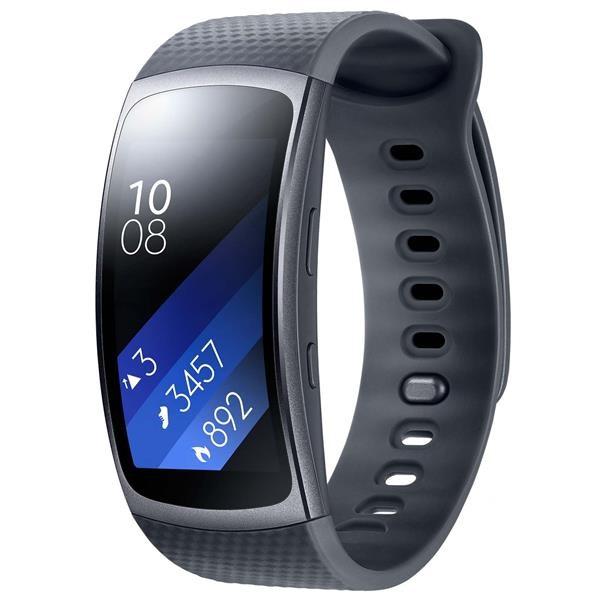 Samsung chytrý náramek Galaxy Gear Fit2 R360, tmavě šedá