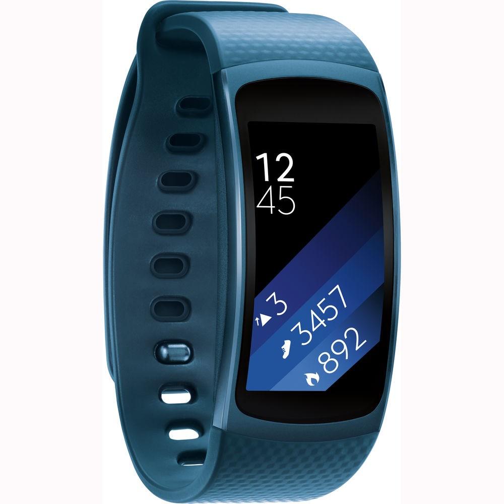 Samsung chytrý náramek Galaxy Gear Fit2 R360, modrá