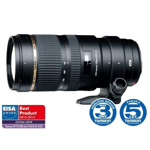 Objektiv Tamron SP 70-200mm F/2.8 Di VC USD pro Canon + UV MC filtr ZDARMA - z výstavky
