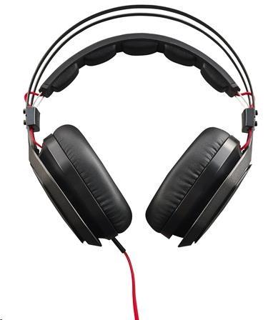 CoolerMaster MASTERPULSE BASS FX herní sluchátka s mikrofonem, černá