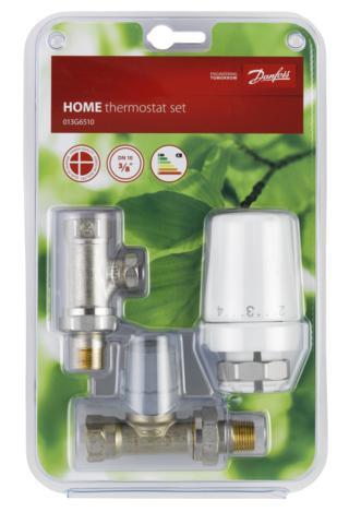"""Danfoss termostatická hlavice RTW-RA+ RA-FN 10, 013G6510, přímé připojení radiátoru, závit G3/8"""""""