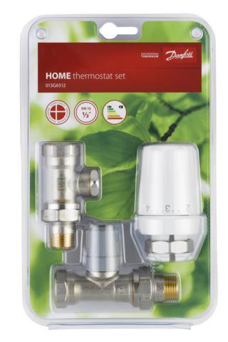 """Danfoss termostatická hlavice RTW-RA+ RA-FN 15, 013G6512, přímé připojení radiátoru, závit G1/2"""""""