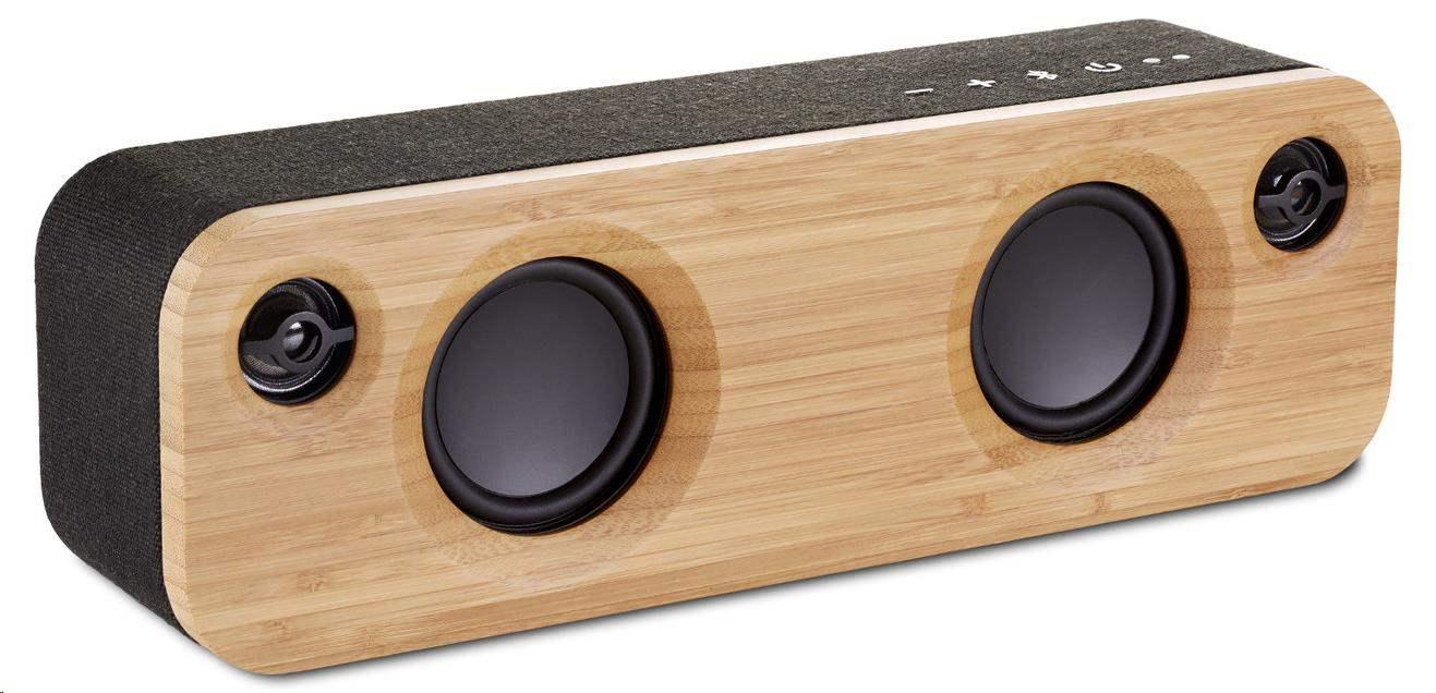 MARLEY Get Together Mini BT - Signature Black, přenosný audio systém s Bluetooth
