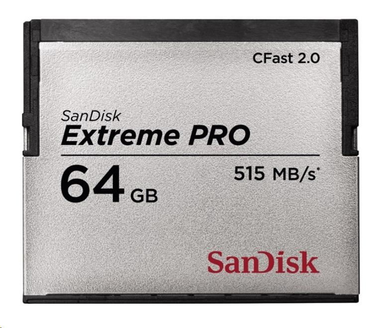 SanDisk Extreme Pro CFAST 2.0 64 GB 515 MB/s