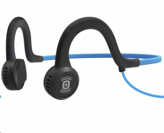 AfterShokz Sportz Titanium, sportovní sluchátka před uši, modrá