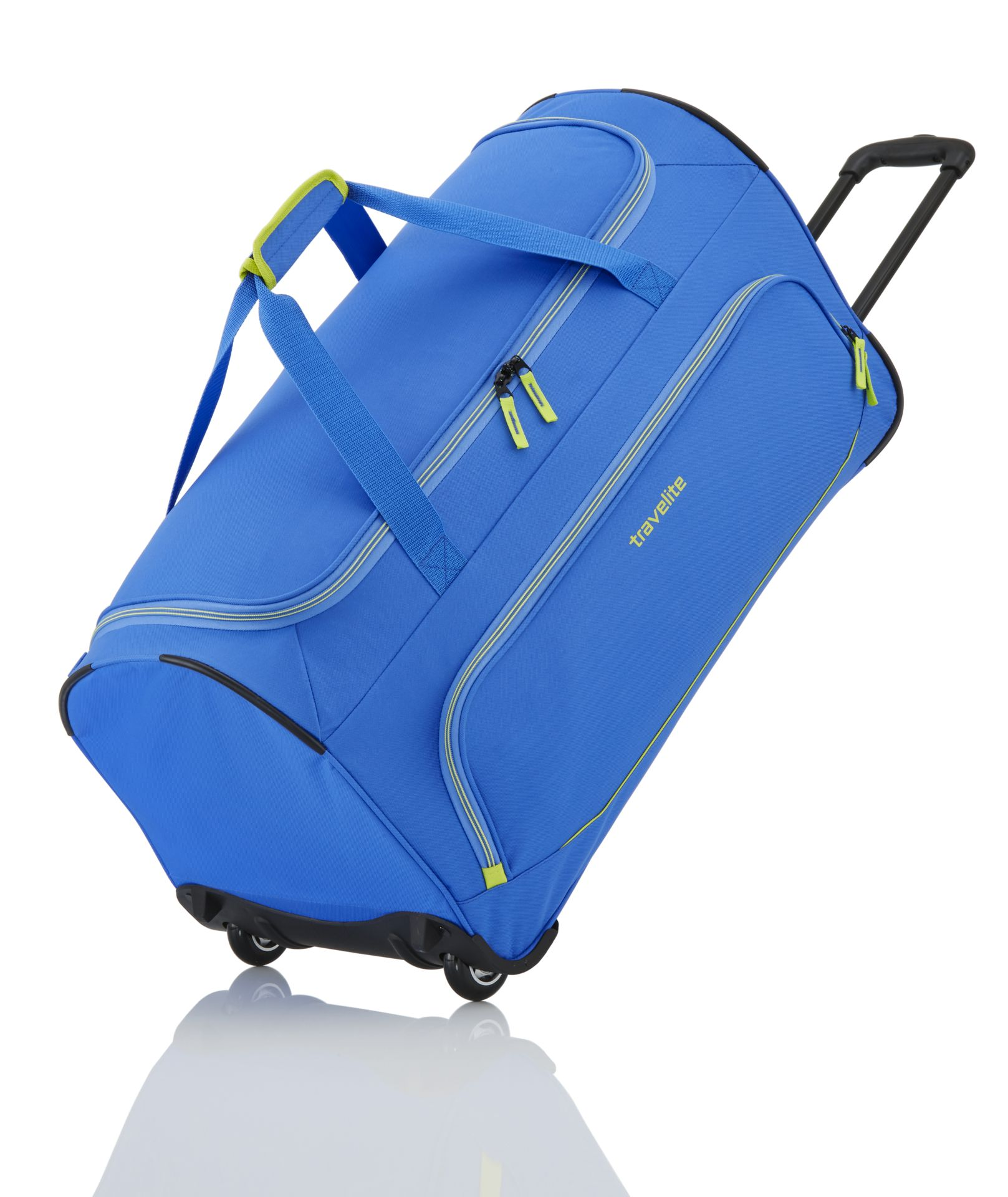Travelite Basics Fresh Wheeled Duffle Royal blue