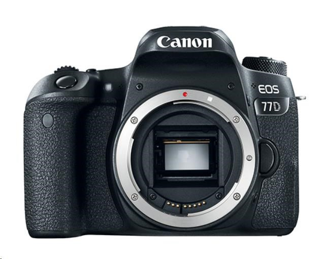 Canon EOS 77D zrcadlovka - tělo