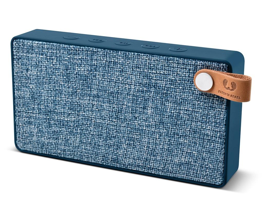 FRESH ´N REBEL Rockbox Slice Fabriq Edition Bluetooth reproduktor, Indigo, indigově modrý