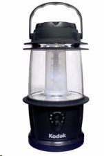 LED lucerna Kodak 20LED - ideální pro venkovní použití, 125lm, IP64, napájení na 3xD (není součástí balení)