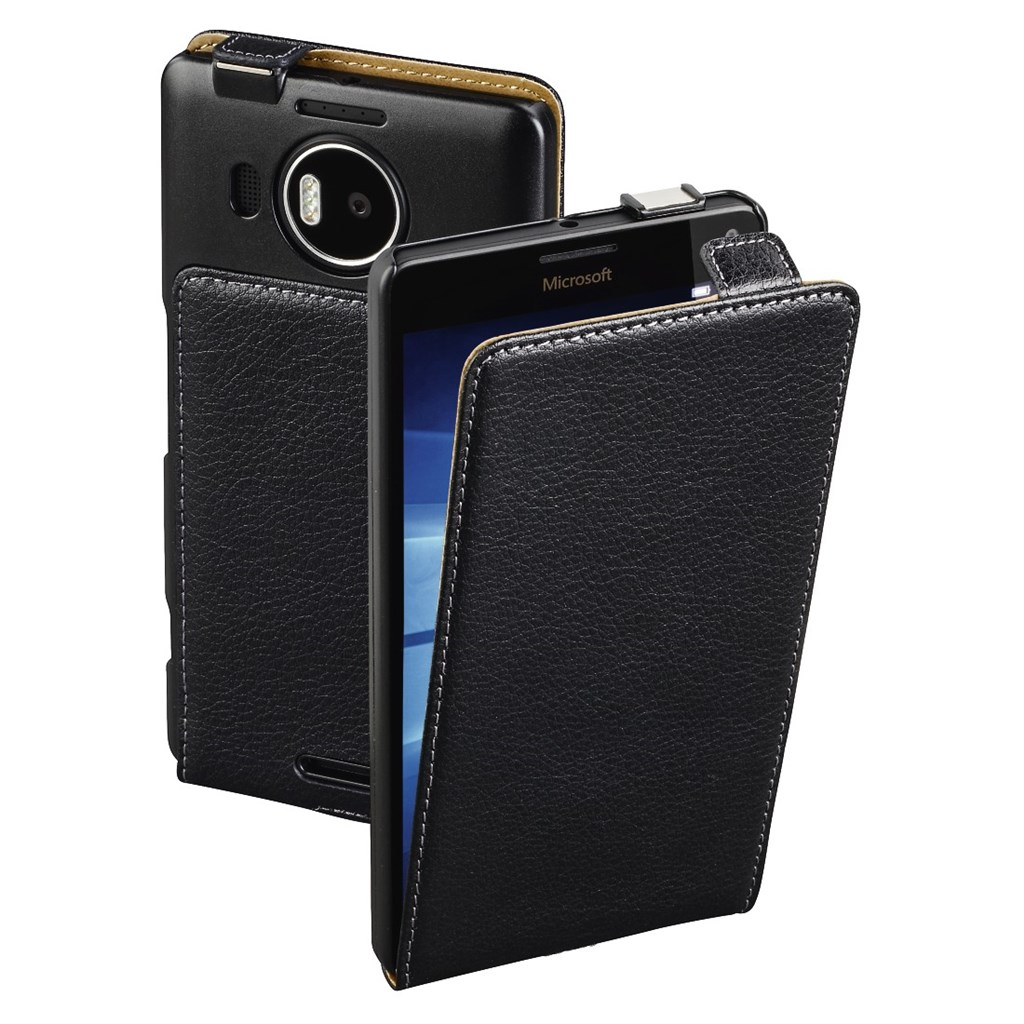 Hama Smart Case Flap Case for Microsoft Lumia 950 XL, black