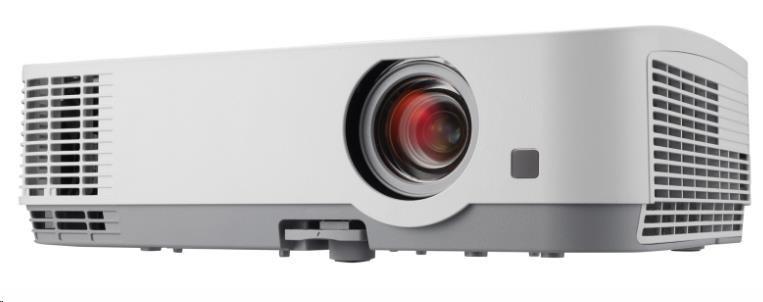 NEC Projektor 3LCD ME361W (1280 x 800 WXGA, 3600ANSI,6000:1) 9000h, D-Sub,HDMI,RCA,Optional WLAN BAZAR/POŠKOZENÝ OBAL