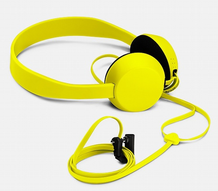 Nokia stereofonní sluchátka WH-520 - Knock for Nokia by COLOUD, žlutá