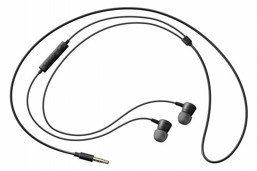 Samsung sluchátková sada stereo s ovládáním EO-HS1303B, konektor 3,5 mm, černá