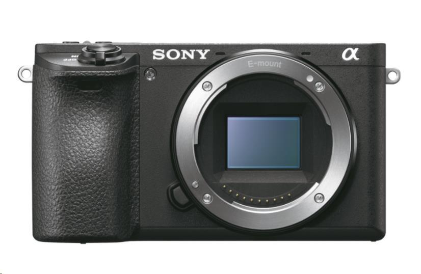 SONY Alfa6500 fotoaparát, 24.2MPix + 18-105 mm - černé