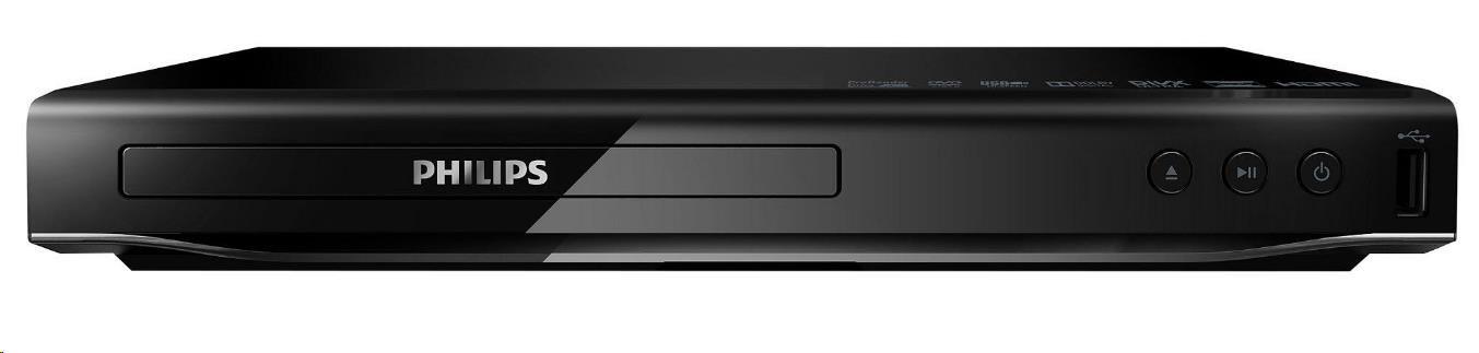 Philips DVP2880/12 DVD přehrávač s USB 2.0 a DivX Ultra, Rozhraní HDMI 1080p, Obvod CinemaPlus,
