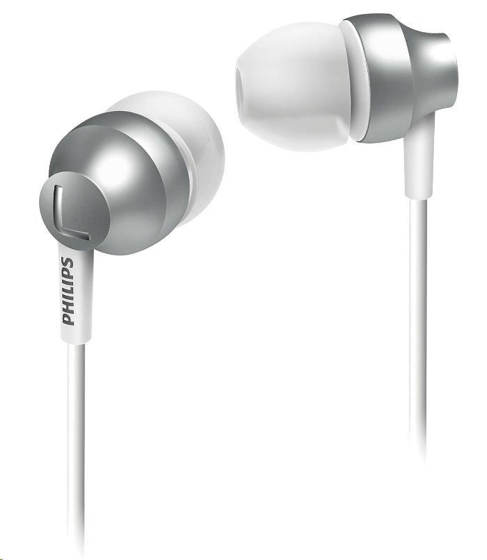 Philips SHE3850SL/00 Sluchátka do uší, Vy´konné reproduktory přenáší čisty´ zvuk a vy´razné basy