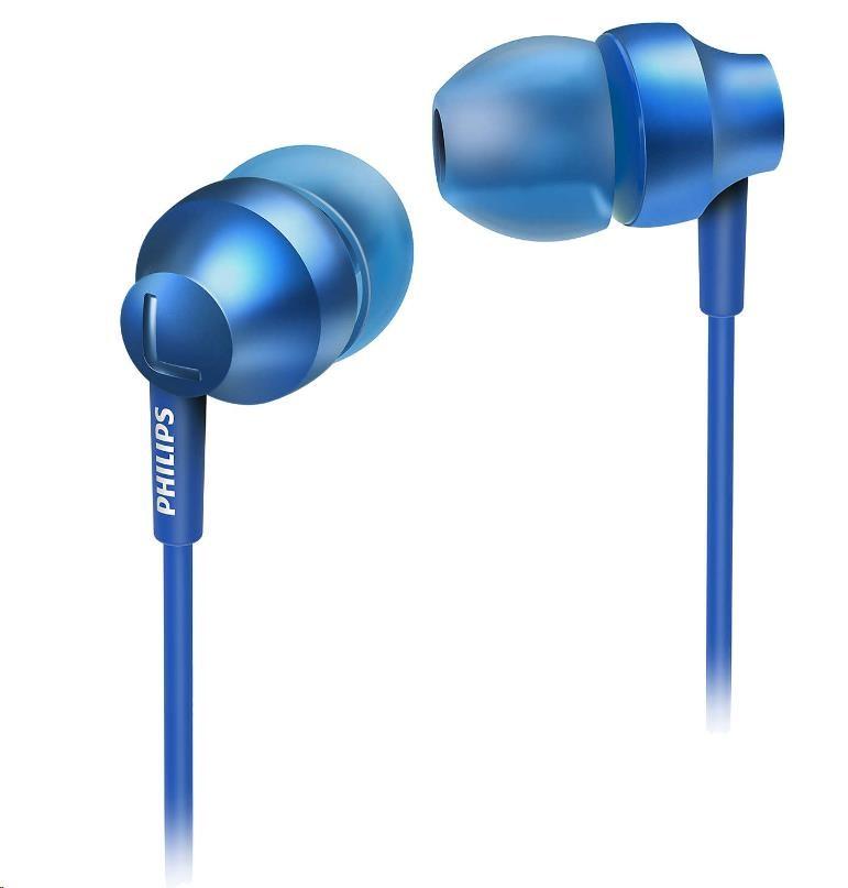 Philips SHE3850BL/00 Sluchátka do uší, Vy´konné reproduktory přenáší čisty´ zvuk a vy´razné basy