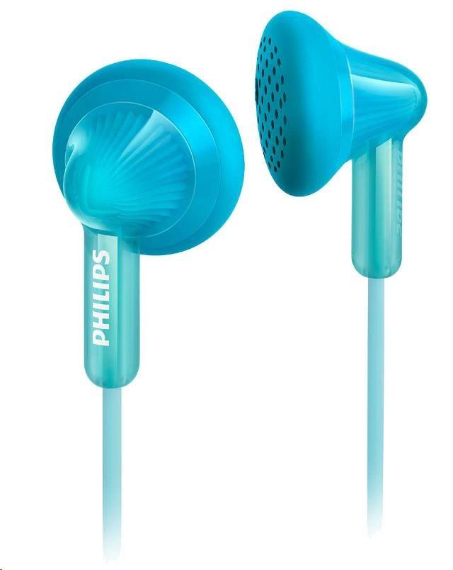 Philips SHE3010TL/00 Sluchátka do uší, 14,8mm reproduktory, Pogumované přední krytky pro pohodlné nošení