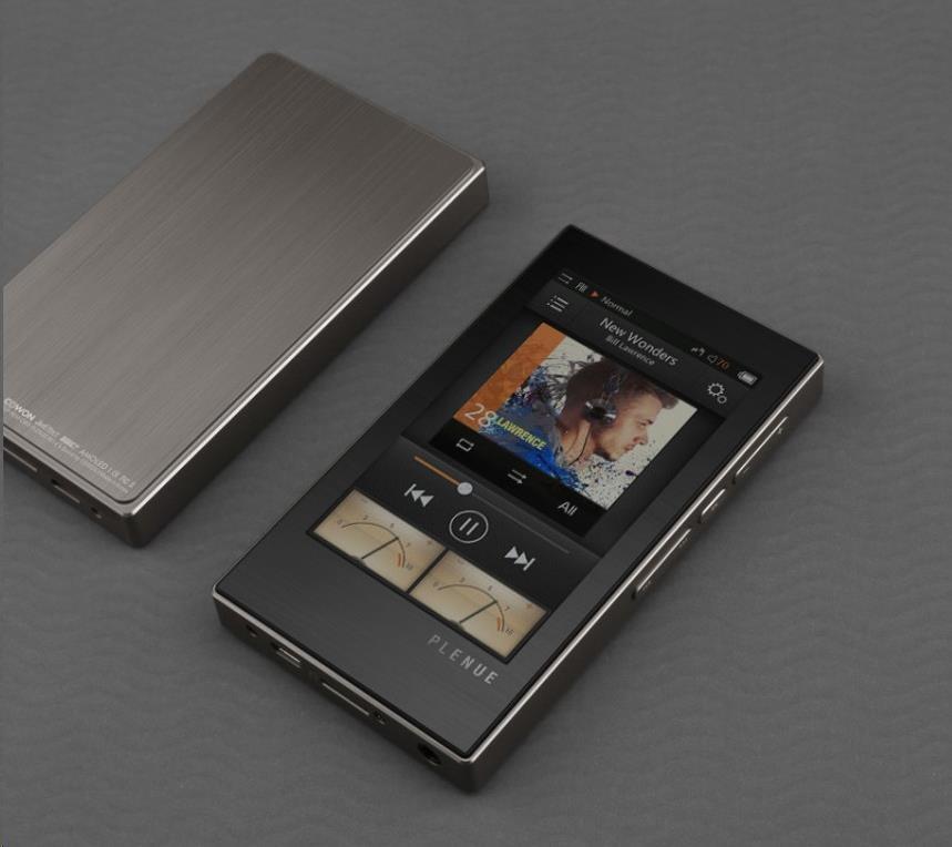 COWON Plenue M PM 64GB Titanium Silver přehrávač