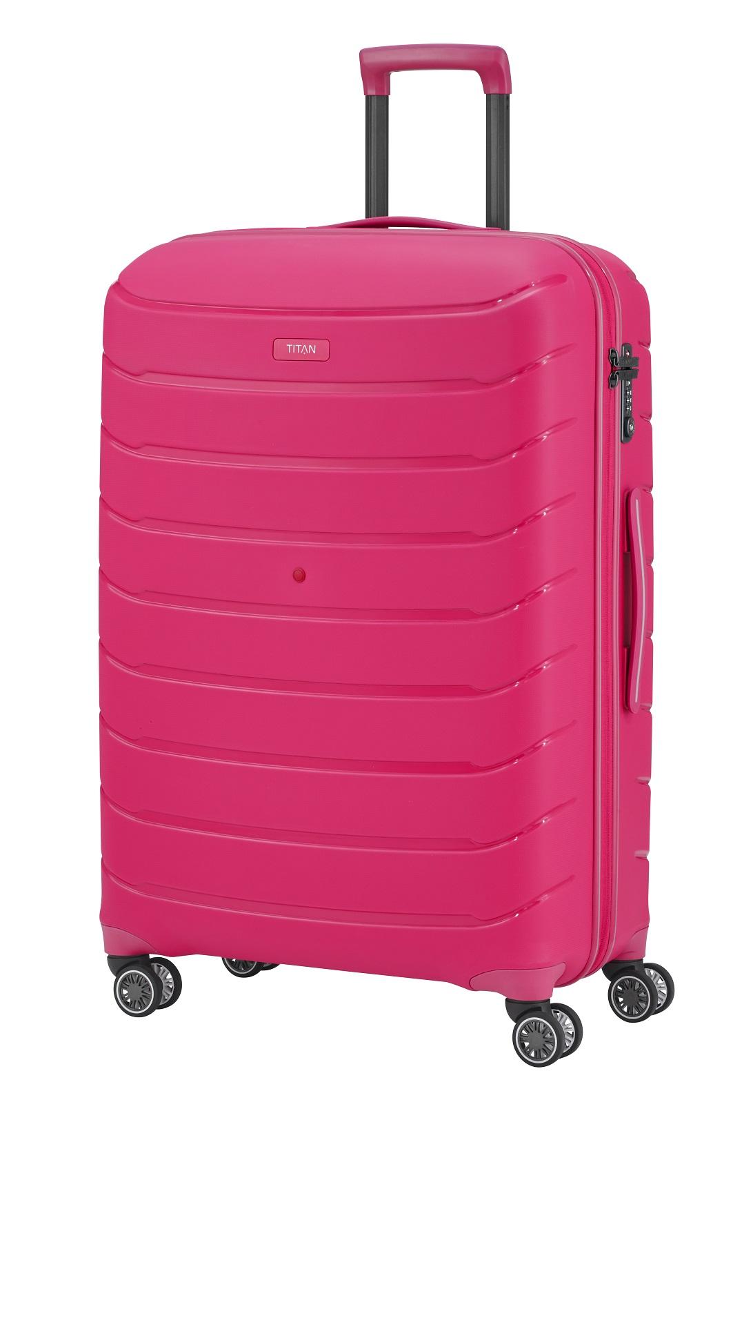 Titan Limit 4w S,M,L Hot Pink – sada 3 kufrů