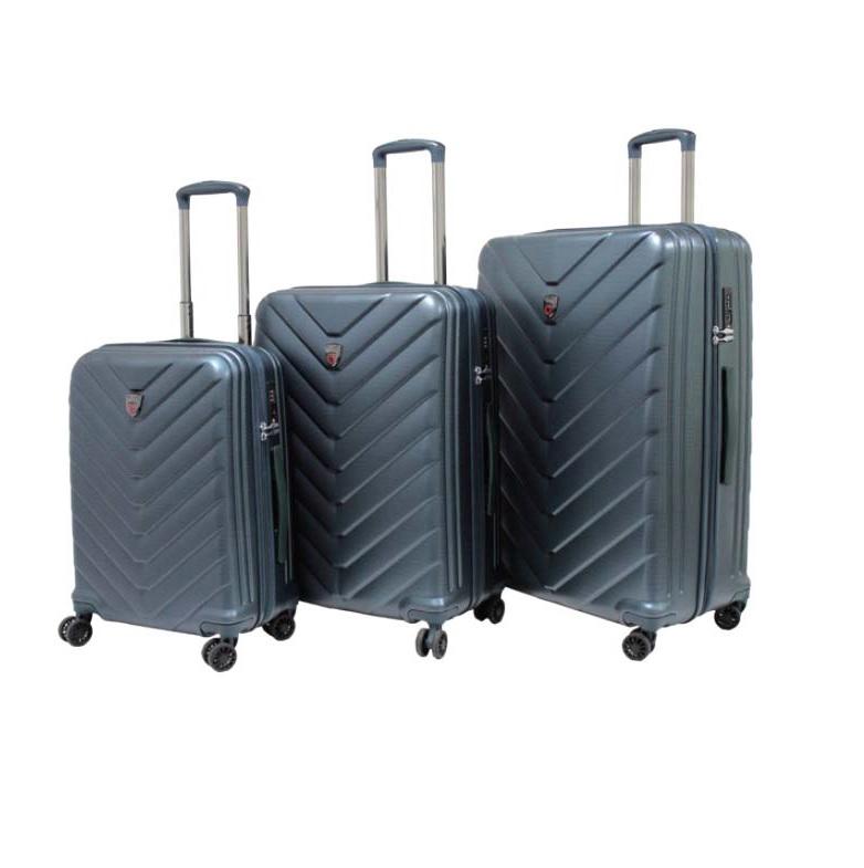 Travelite Dart 4w S,M,L Anthracite – sada 3 kufrů