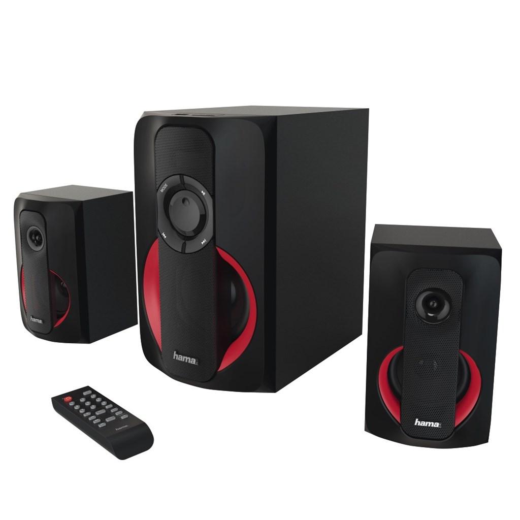 Hama 2.1 Sound systém PR-2180 černá/červená