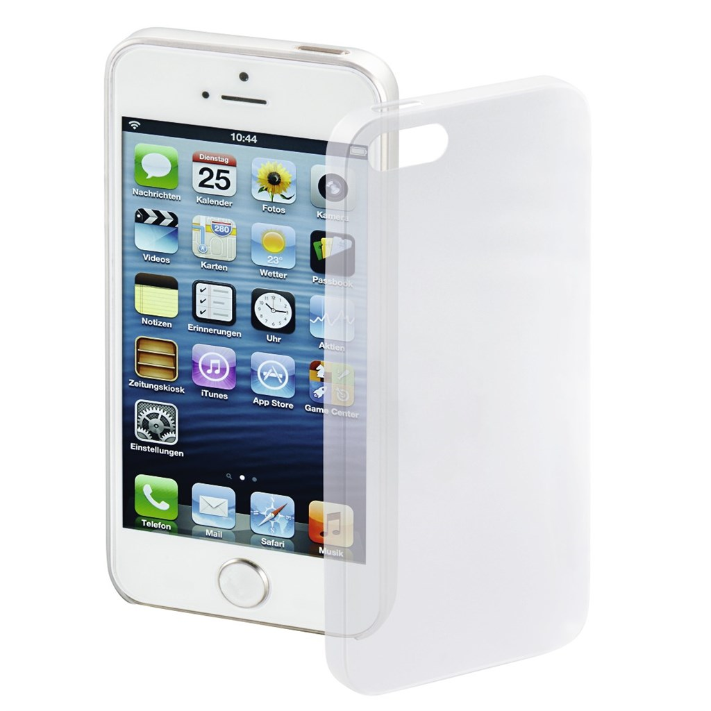 Hama Ultra Slim Cover for Apple iPhone 5/5s/SE, white