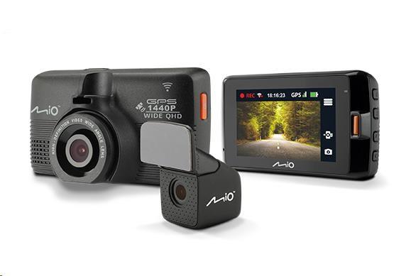 MIO MiVue 752 WiFi Dual - kamera pro záznam jízdy