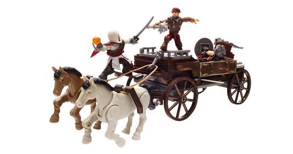 HR Mattel Mega Bloks Assassin's Creed POVOZ