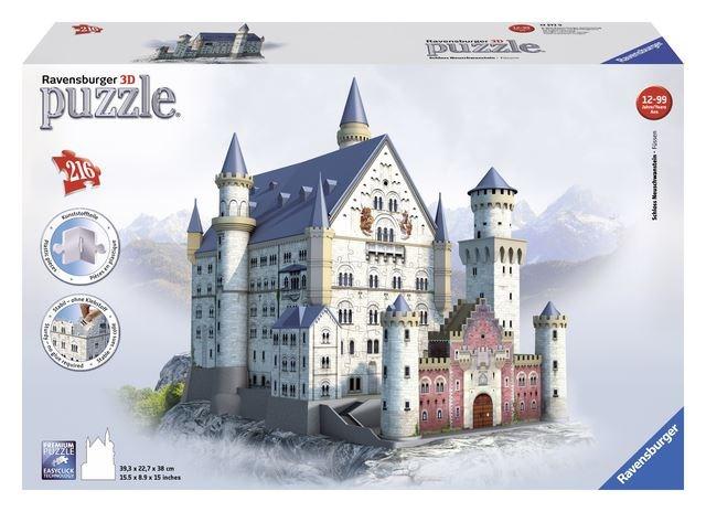 HR Ravensburger Puzzle Neuschwanstein 3D 216d