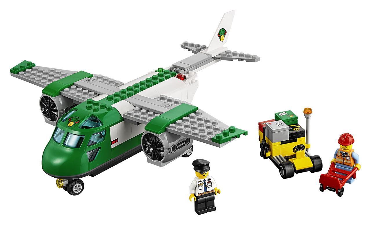 Letiště - nákladní letadlo