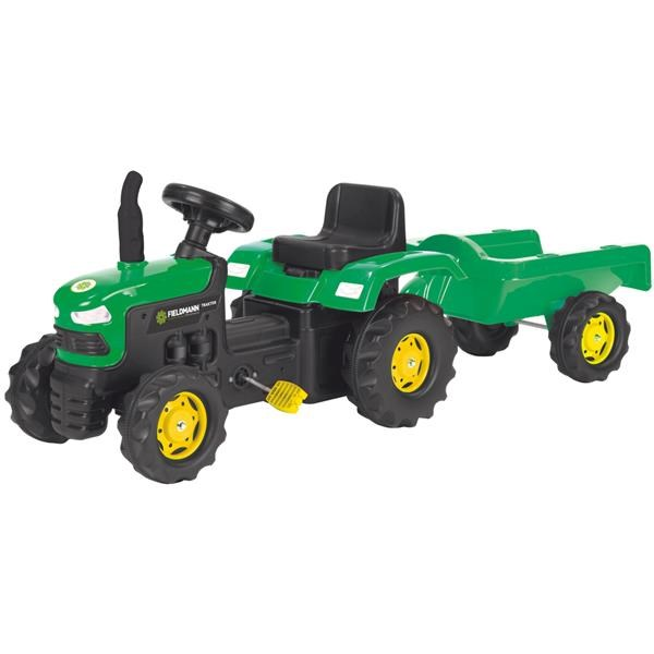 HR Buddy Toys BPT 1012 Šlapací traktor s voz.
