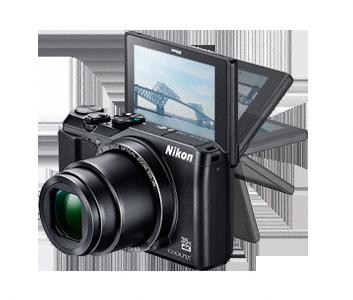 Nikon Coolpix A900 černý,20,3M, 35xOZ,4K UHD Video