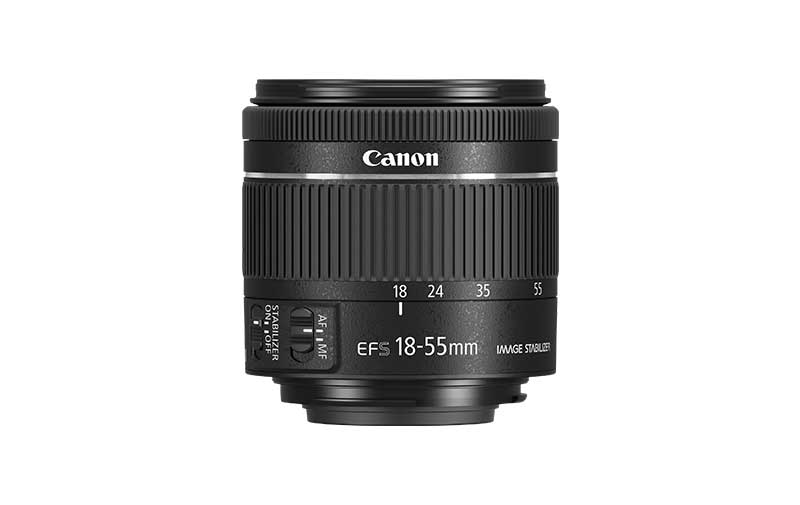 Canon objektiv EF-S 18-55mm f4-5.6 IS STM
