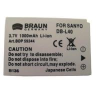 BRAUN akumulátor - SANYO DB-L40